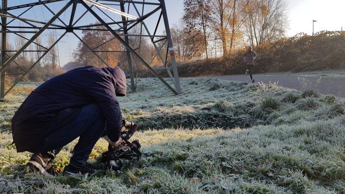 Frostiger Dreh im Pott