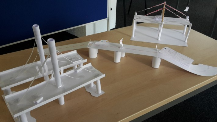 3 Brückenentwürfe
