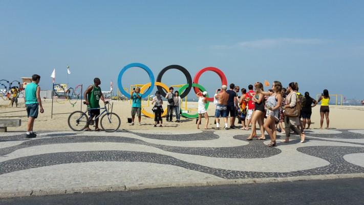 Olympiafeeling an der Copacabana