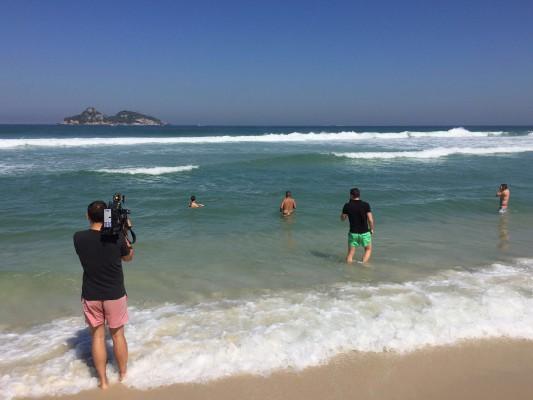 Schwimmkurs mit ZDF-Experte Christian Keller