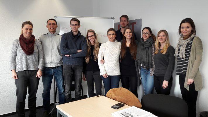 90 Minuten Besuch von Redakteurin Britta Havlicek vom Kölner Stadtanzeiger