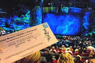 "Backstage bei ""Tarzan"""