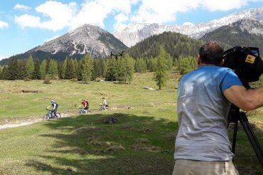 Ab in die Berge für n-tv