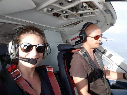 Co-Pilotin :-)