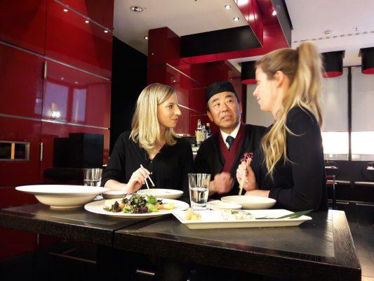 Mit dem Sushi-Koch im Gespräch