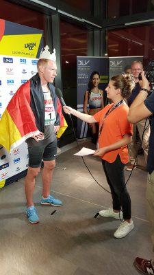 Mit dem König der Athleten im Interview: Arthur Abele ist überglücklich!